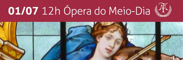 Flyer Ópera do Meio-Dia - Ópera Francesa - 01-07-2015