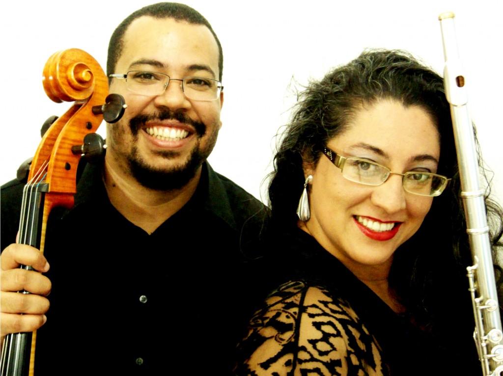 Neemias Santos e Fabiane Oliveira (foto de Carla Ruaro)