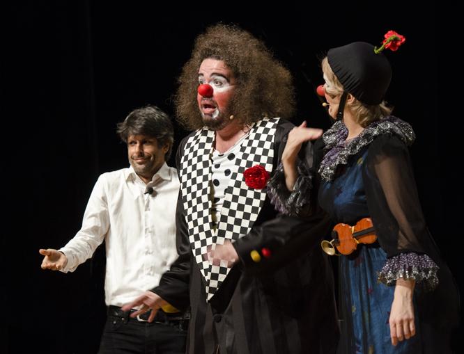 Felipe Prazeres, Kadu Garcia e LetA�cia Medella