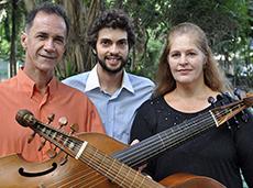 Kristina Augustin, Mario Orlando e Eduardo Antonello
