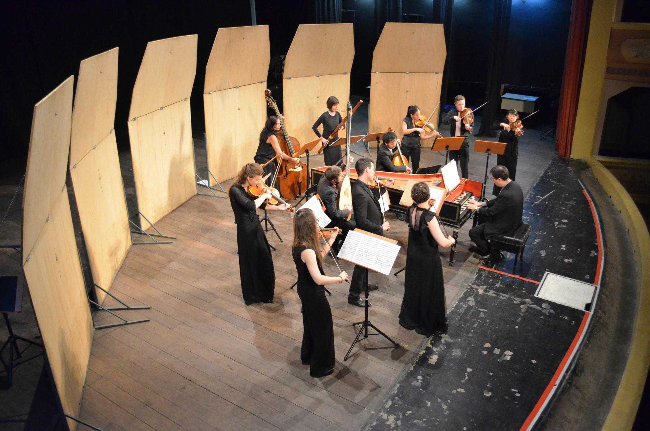 Collegium Musicum Den Haag no palco