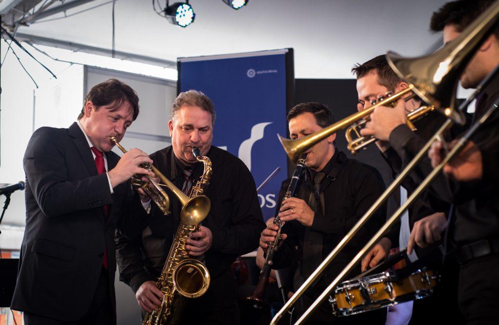 """EspetA?culo """"ClA?ssicos do Jazz"""" (foto de Cristiane Moreira)"""