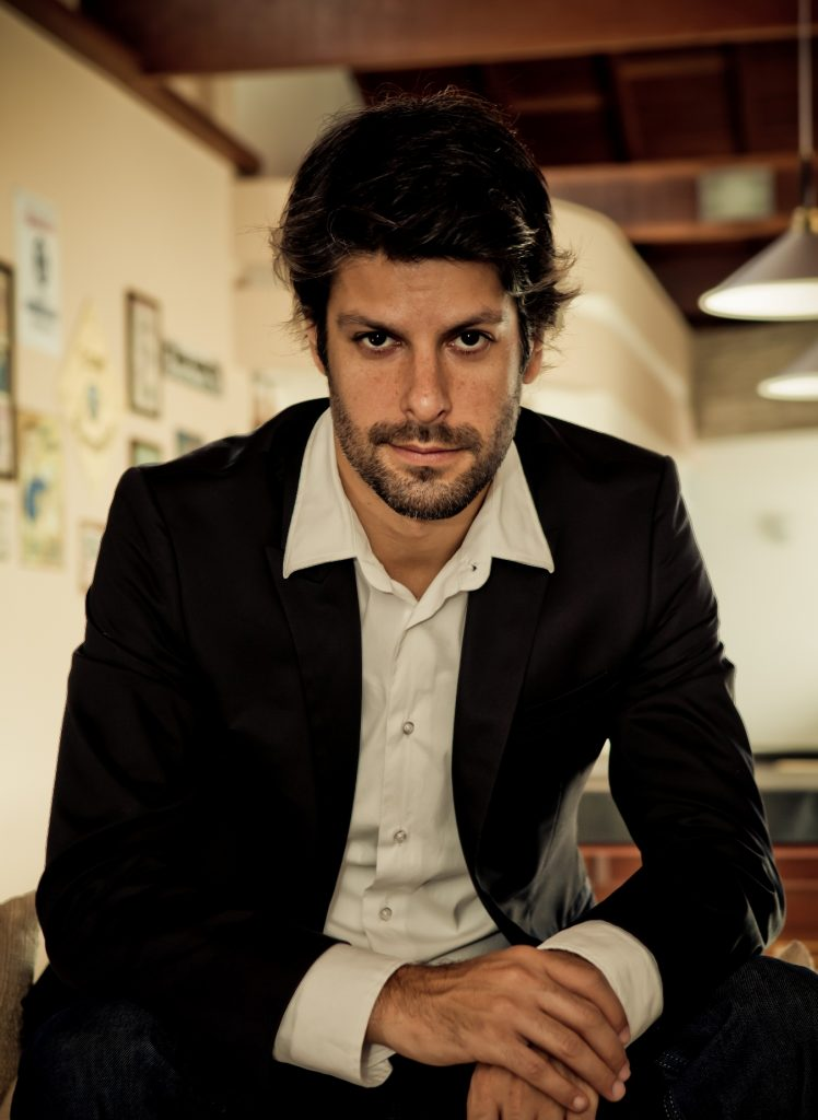 Felipe Prazeres (foto de Luiza Reis)